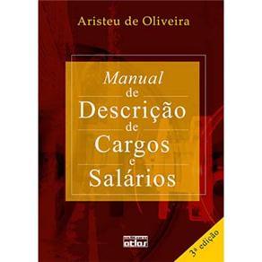Manual de Descrição de Cargos e Salários