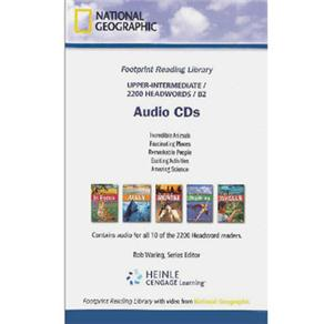 Cd Audio - Footprint Reading Library - Level 6 - B2 - American English