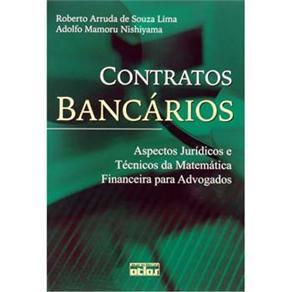 Contratos Bancários: Aspectos Jurídicos e Técnicos da Matemática Financeira