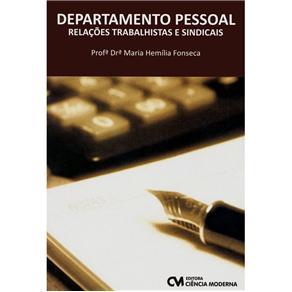 Departamento Pessoal - Relacoes Trabalhistas e Sindicais