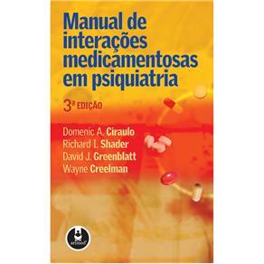 Manual de Interacoes Medicamentosas em Psiquiatria