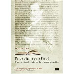 Pé de Página para Freud: uma Investigação Profunda das Raízes da Psicanálise