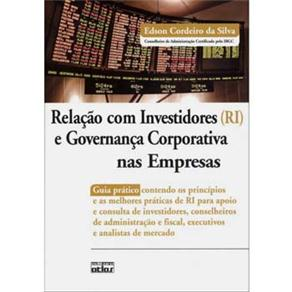 Relação Com Investidores (ri) e Governança Corporativa nas Empresas - Edson Cordeiro da Silva