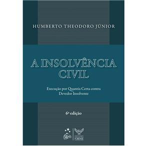 Insolvencia Civil, a - Execucao por Quantia Certa Contra Devedor Insolvente
