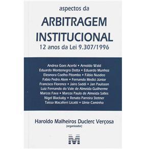Aspectos da Arbitragem Institucional
