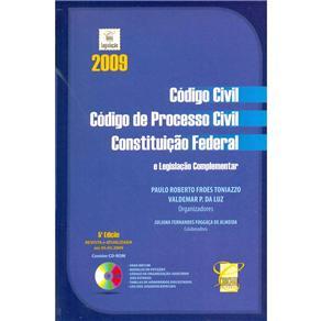 Código Civil, Código de Processo Civil e Constituição Federal e Legislação Complementar - Paulo Roberto Froes Toniazzo e Valdemar P. Da