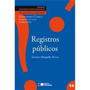 Estudos Direcionados Perguntas e Respostas - Registros Públicos - Volume 14