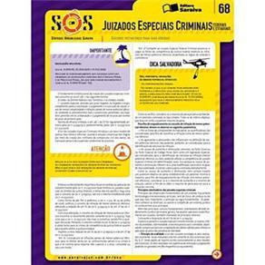 Sinteses Organizadas Saraiva: Juizados Especial Criminais - Vol. 68