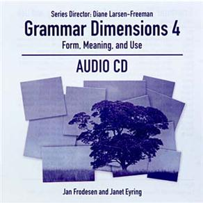Cd Audio - Grammar Dimensions Level 3