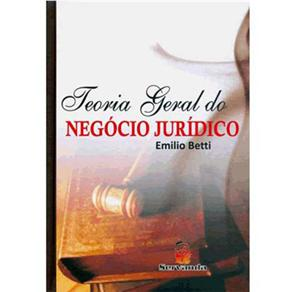 Teoria Geral do Negócio Jurídico - Emílio Betti