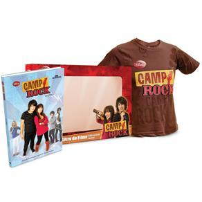 Camp Rock - Livro do Filme - Acompanha Camiseta