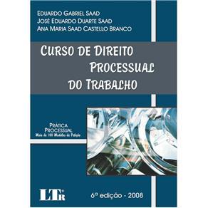 Curso de Direito Processual do Trabalho