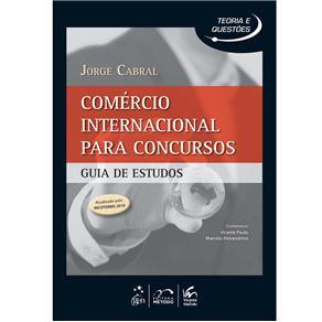 Comércio Internacional para Concursos Guia Deestudos