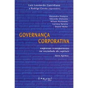 Governanca Corporativa- Empresas Transparentes na Sociedade de Capitais