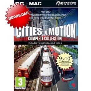Jogo Cities In Motion: Complete Collection Paradox Interactive - Pc