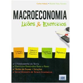 Macroeconomia: Lições & Exercícios - Carlos Nabais