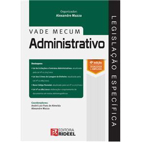 Legislação Específica: Vade Mecum Administrativo