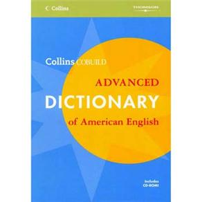 Collins Cobuild Advanced Dictionary Of American English With Cd-rom (paperback)