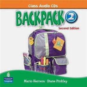 Backpack 2 Class Audio Cd(2) 2e