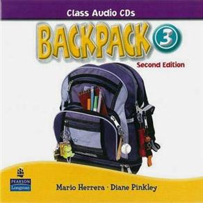 Backpack 3 Class Audio Cd(2) 2e