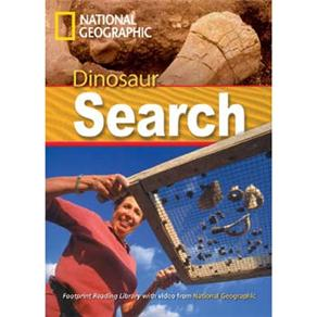 Footprint Reading Library - Level 2 1000 Headwords A2 - Dinosaur Search - American English