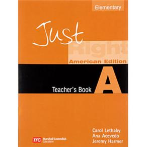 Just Right Elementary a - Teacher´s Book