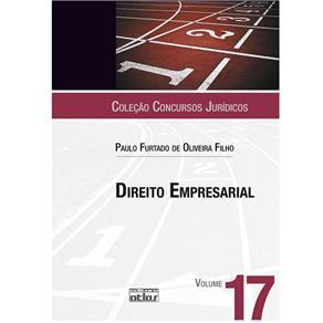 Concursos Jurídicos - Direito Empresarial - Volume 17