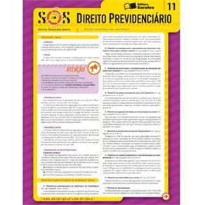 Sínteses Organizadas Saraiva - Direito Previdenciário - Volume 11