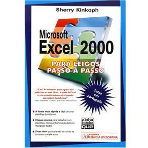 Microsoft Excel 2000 para Leigos Passo a Passo