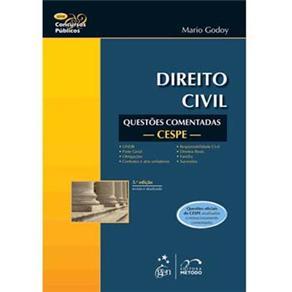Direito Civil: Questões Comentadas Cespe - Série Concursos Públicos
