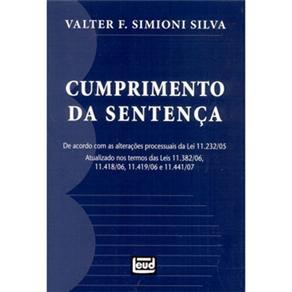 Cumprimento da Sentença - Valter F. Simioni Silva