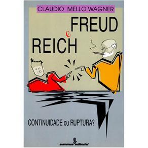 Freud e Reich: Continuidade Ou Ruptura?