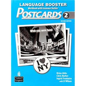 Postcards: Workbook With Grammar Builder - Level 2