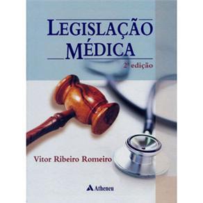 Legislação Médica - Vitor Ribeiro Romeiro