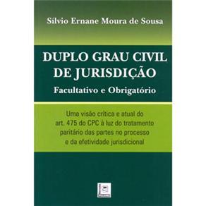 Duplo Grau Civil de Jurisdição: Facultativo e Obrigatório