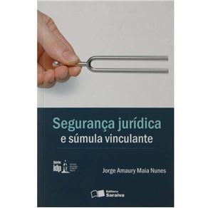 Idp - Segurança Jurídica e Sumula Vinculante - Jorge Amaury Maia Nunes
