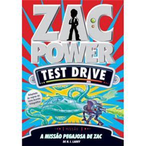 Zac Power Test Drive: a Missão Pegajosa de Zac - Volume 4