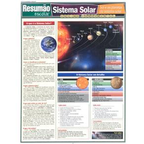 Resumão Escolar - Sistema Solar: Sol e os Planetas do Sistema Solar: Ensino Fundamental - Sérgio Noriaki Sato, Andréa Barros e Márcia M