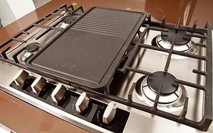 Cooktop 5 Bocas Elettromec Inox - Gás - C701-xl5