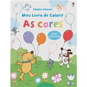 As Cores: Meu Livro de Colorir