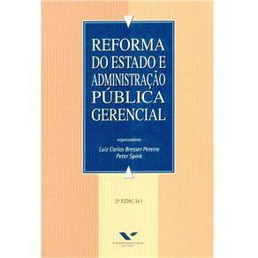 Reforma do Estado e Administracao Publica Gerencial