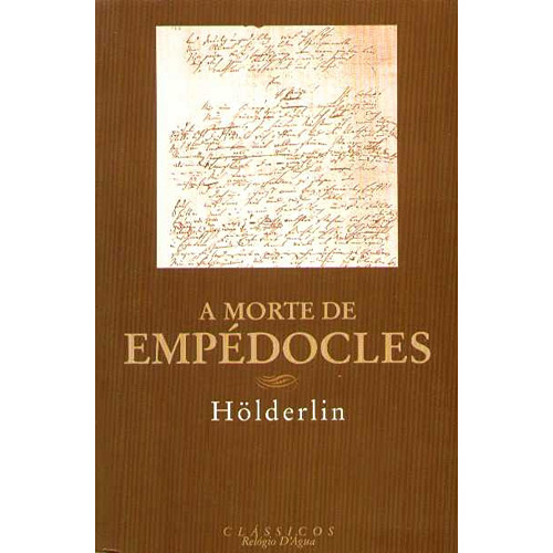 Morte de Empédocles, A