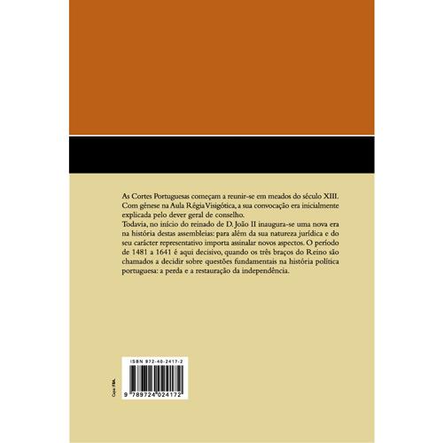 Contributo para um Estudo Histórico -jurídico das Cortes Portuguesas Entre 1481-1641