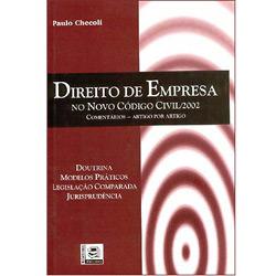 Direito de Empresa no Novo Código Civil/2002