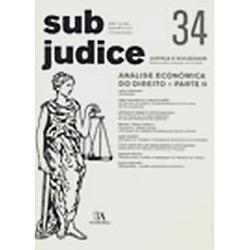Sub Judice 33 - Análise Económica do Direito - Parte I