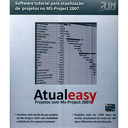 Atualeasy Software - Projetos Com Ms-project 2007- Cd-rom