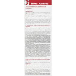Suma Jurídica: Juizados Especiais Criminais