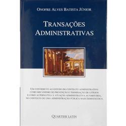 Transações Administrativas