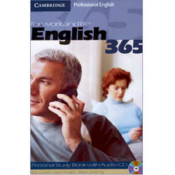Forworkandlife English 365: Personal Study Book With Audio Cd - Importado