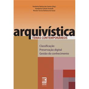 Arquivística: Temas Contemporâneos